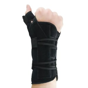 A wrist and thumb orthosis can serves to immobilize the wrist in Michigan USA