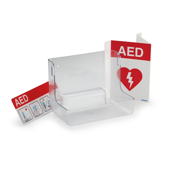 The Philips AED Wall Mount and Signage Bundle - 861477 in Michigan USA