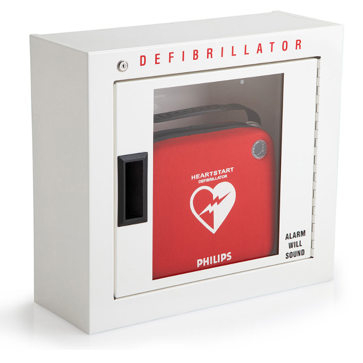 Philips AED Cabinet - Compact with Audible Alarm 989803136531 Available in Michigan USA