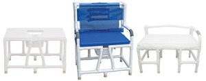 MJM INTL Bariatric Shower Chairs in Michigan USA