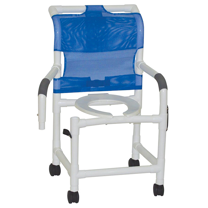 MJM SUPERIOR SHOWER CHAIR W/DUAL SWING AWAY ARMRESTS in Michigan USA