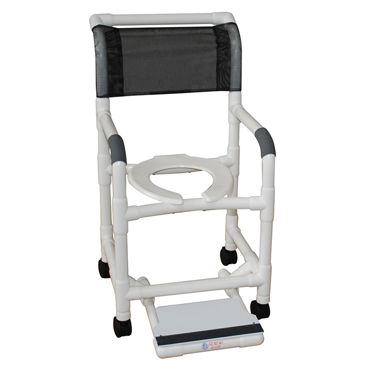MJM SUPERIOR SHOWER CHAIR AND SLIDING FOOTREST 118-3-SF in Michigan USA
