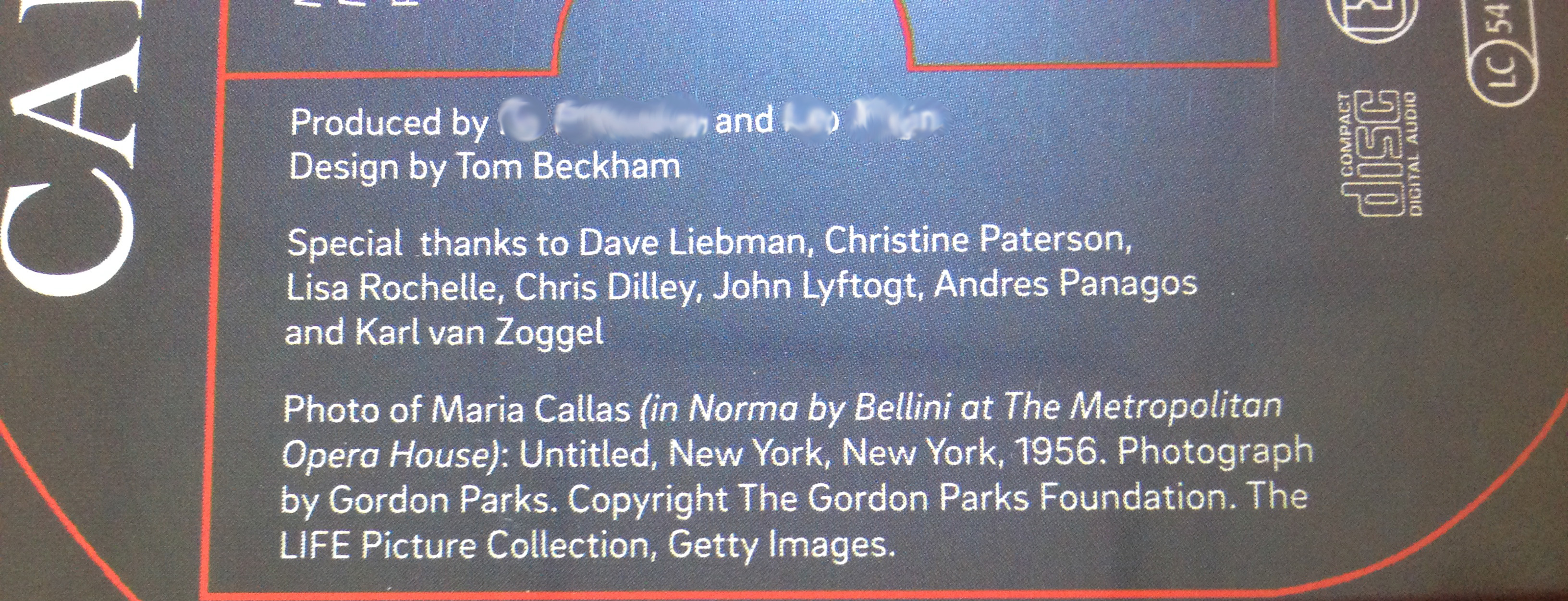 Ivo Perelman special thanks CD listing anonymous