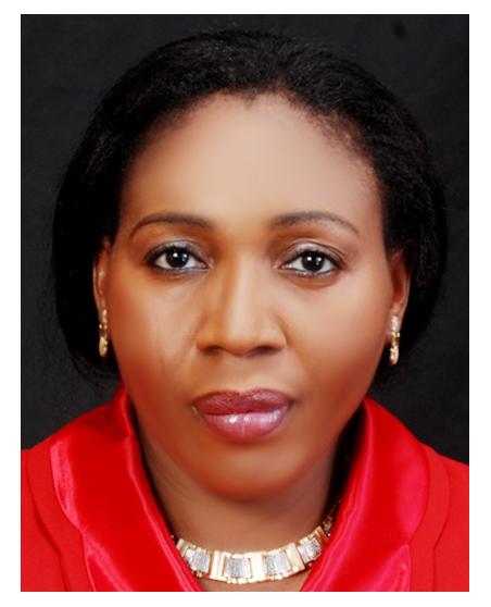 Dr Ezeaka passport photo red