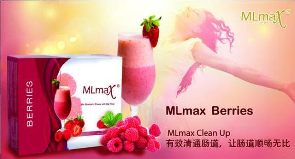 MLmax Clean Up - Berries Flavour Fibre Shake