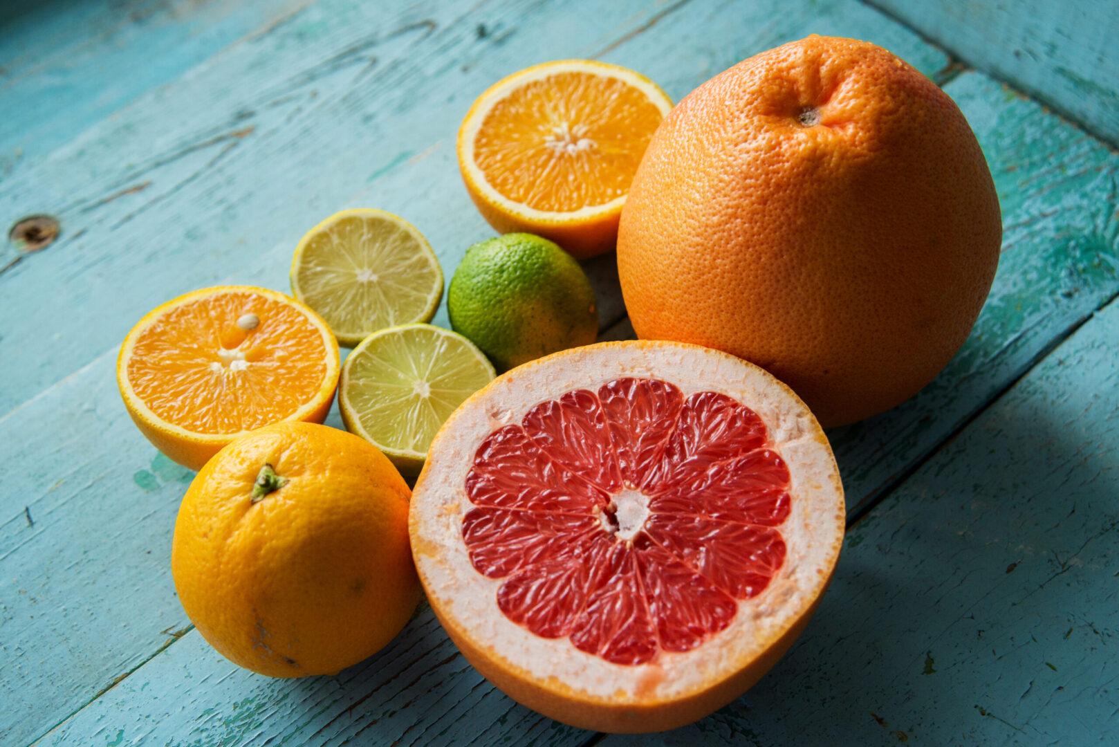 vitamin C: citrus
