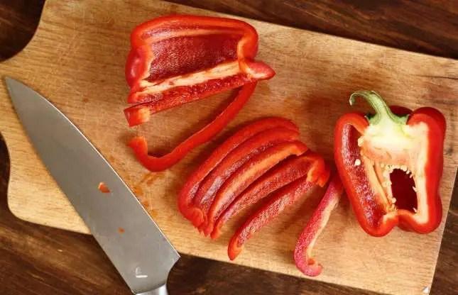 Imagen de pimientos rojos.