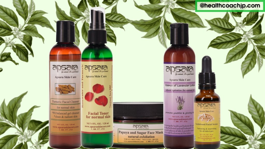 Apsara skincare and hair care products reviews