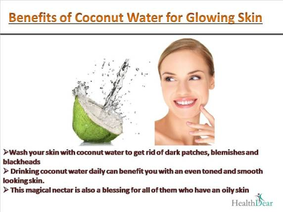 drinking coconut water and its benefits