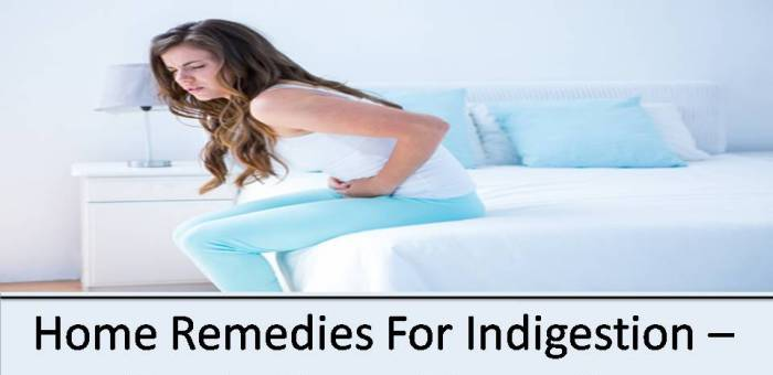 Simple Natural remedies for Indigestion