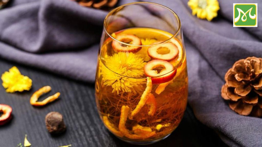How To Make Chrysanthemum Drink Simple Heat