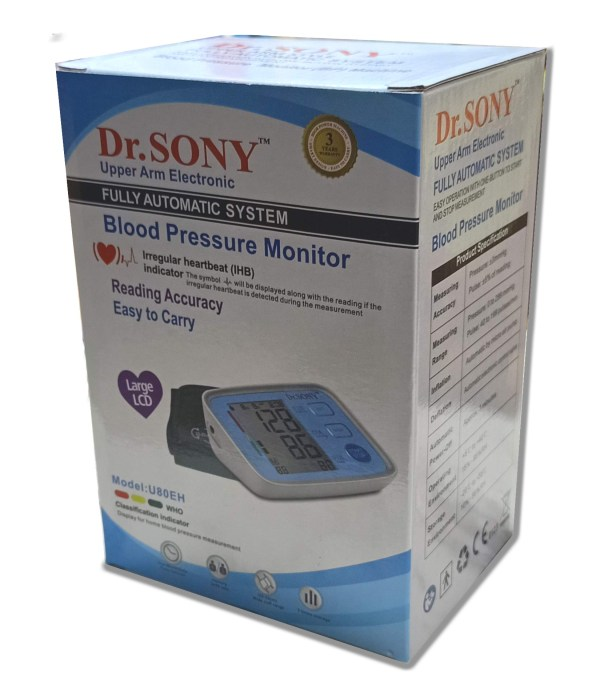 Dr. sony blood pressure monitor