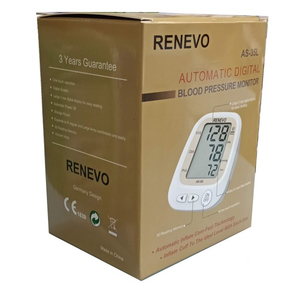 RENEVO Digital Blood Pressure Monitor