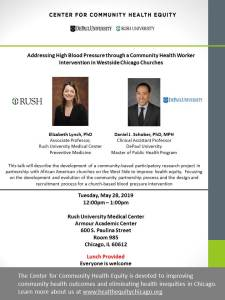 Addressing High Blood Pressure through a Community Health Worker Intervention in Westside Chicago Churches
