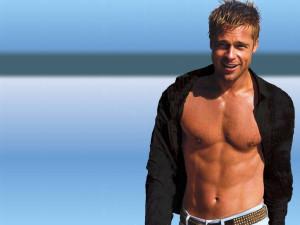 Attractive-Body-Of-Brad-Pitt