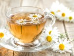 Chamomile tea in cup Herbs for the Gut