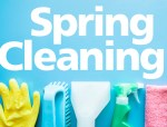 Spring Cleaning Checklist with Natural Cleaners