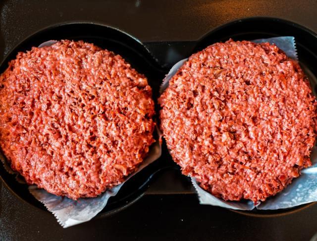 Beyond meat patties
