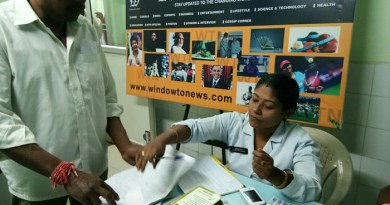 Diabetes and blood test camp held in the city