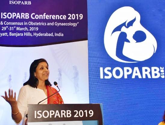 Ms Sangita Reddy inaugurates the '35th National ISOPARB 2019'!