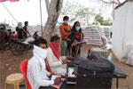 गेहूँ खरीदी केन्द्रों पर कोरोना से सुरक्षा की व्यवस्थाओं से खुश हैं किसान