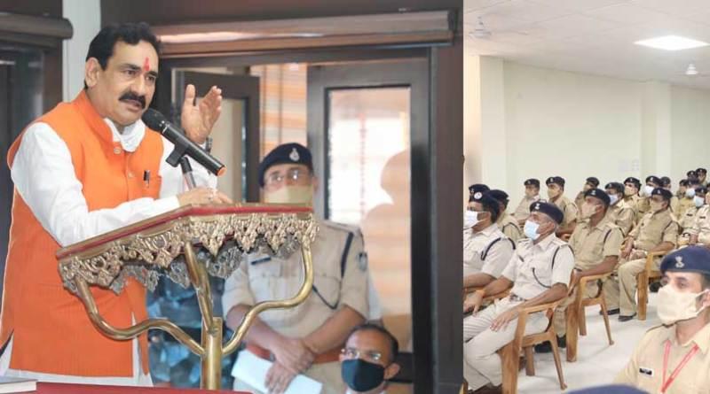 आपातकाल में होमगार्ड सैनिकों की सेवाएं सराहनीय : मंत्री डॉ. मिश्रा