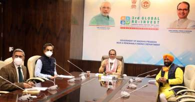 प्रधानमंत्री श्री नरेंद्र मोदी द्वारा तीसरे ग्लोबल रिन्यूबल एनर्जी इन्वेस्टर्स मीट एक्सपो का शुभारंभ