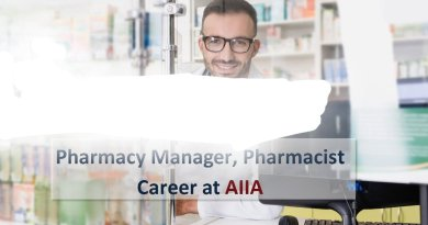 AIIA Govt of India Job opening for Pharmacy Manager Pharmacist