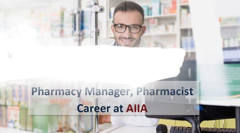 AIIA Govt of India Job opening for Pharmacy Manager Pharmacist