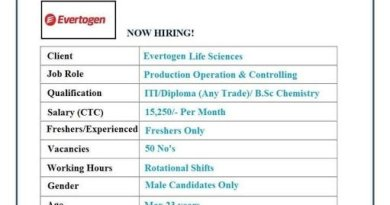 Evertogen Life Sciences Multiple Openings 50 Positions for Freshers Apply Now