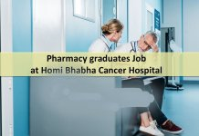 Homi Bhabha Cancer Hospital Walk in Interview for Pharmacy graduates
