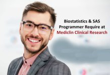 Mediclin Clinical Research Biostatistics and SAS Programmer Require