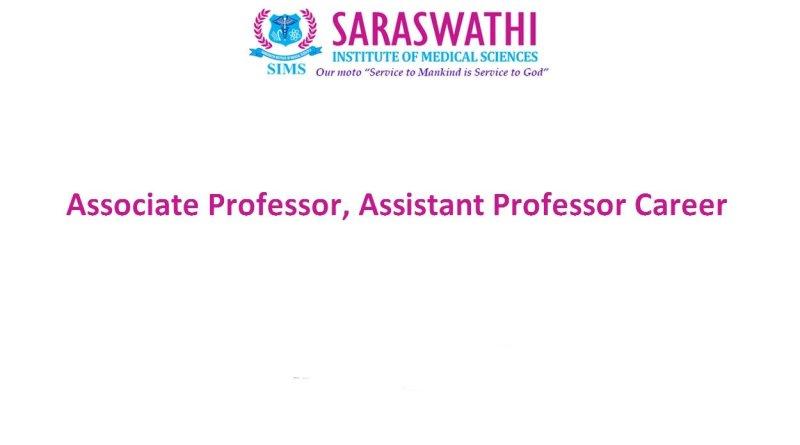Saraswathi College of Pharmacy Job for Associate Professor Assistant Professor