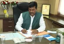मंत्री श्री भारत सिंह कुशवाह ने एम.पी. एग्रो के चेयरमेन का पदभार ग्रहण किया
