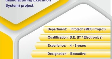 Torrent Pharma Ltd Urgent Openings for Technology Transfer Infotech MES Project Departments