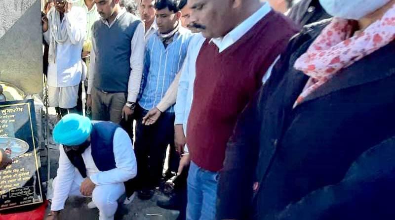 मंत्री श्री डंग ने गांव महुवी से ग्रामीण स्वच्छता एवं पेयजल अभियान का शुभारंभ किया