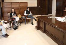 मुख्यमंत्री श्री चौहान से मिले ट्राइडेंट समूह के पदाधिकारी