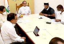 भोपाल, इंदौर में बरतें विशेष सावधानी : मुख्यमंत्री श्री चौहान