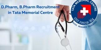 Tata Memorial Centre Pharmacist Scientific Assistant Post Recruitment for DPharm BPharm