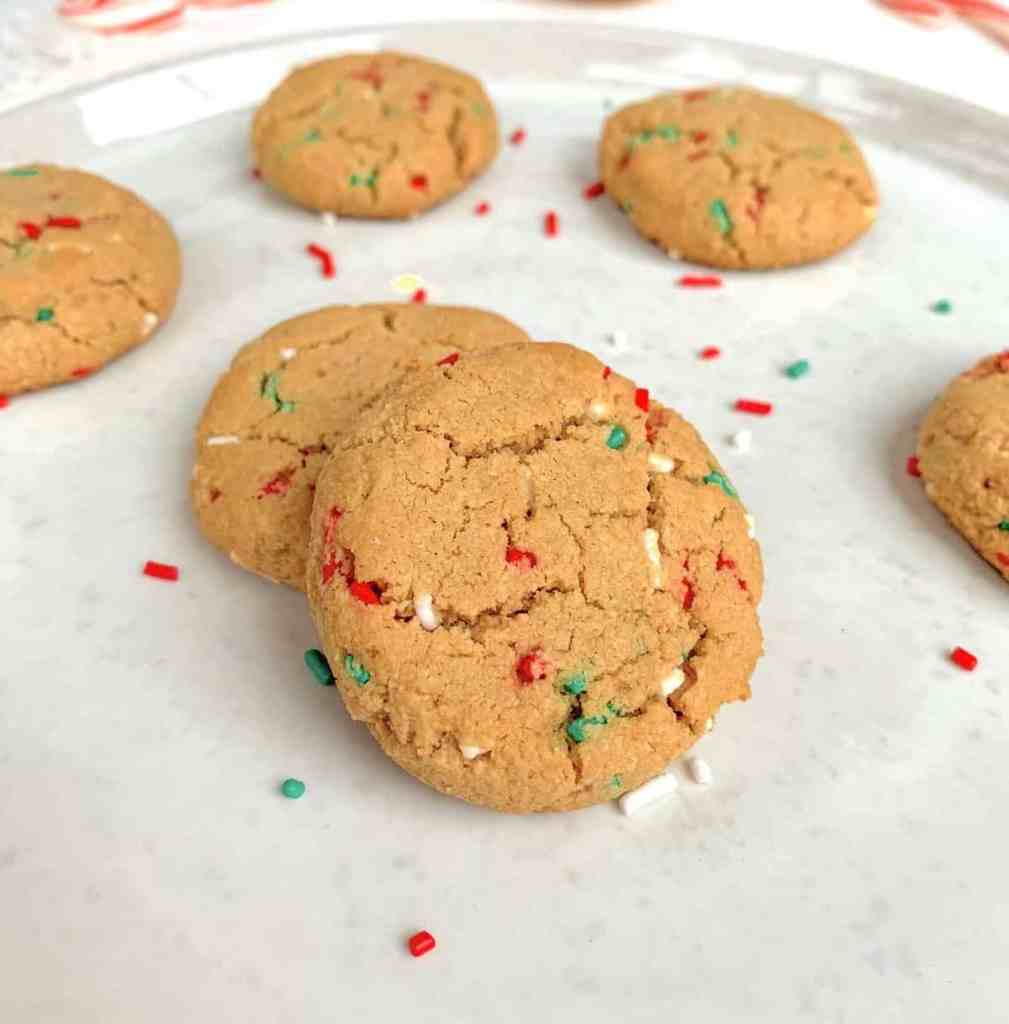 healthy soft sprinkle sugar cookies