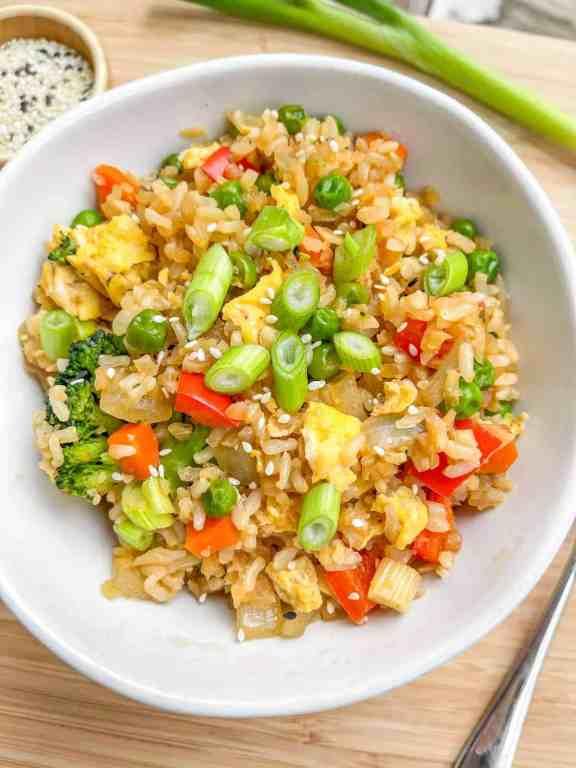 gluten free Vegetable Fried Rice
