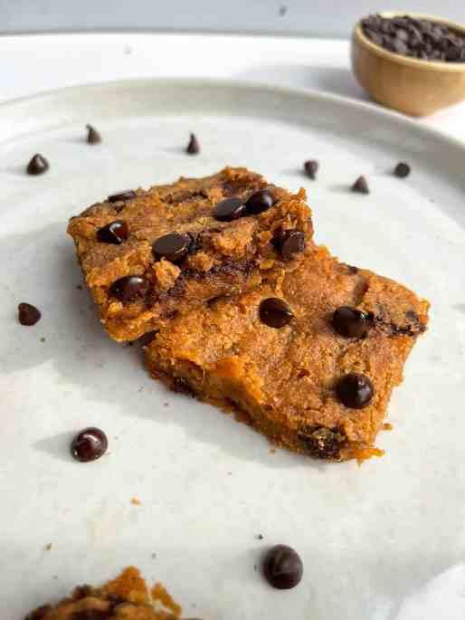 Healthy Sweet Butter Blondies Potato Peanut  - recipe by Healthful Blondie