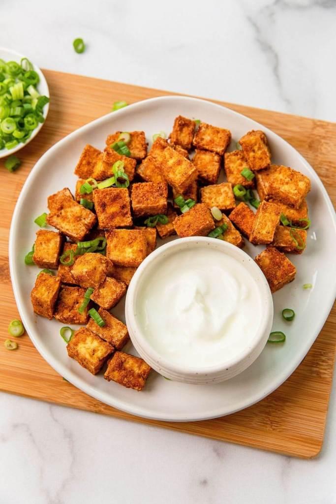 how to air fry tofu