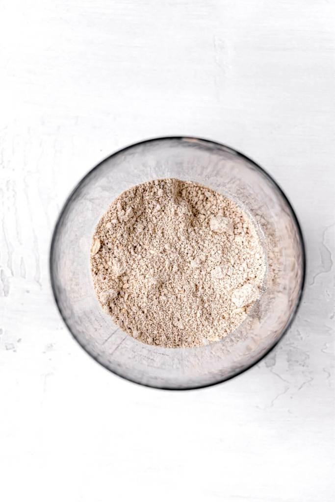 how to make homemake oat flour in blender