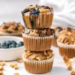 healthy blender baked oatmeal muffins three ways