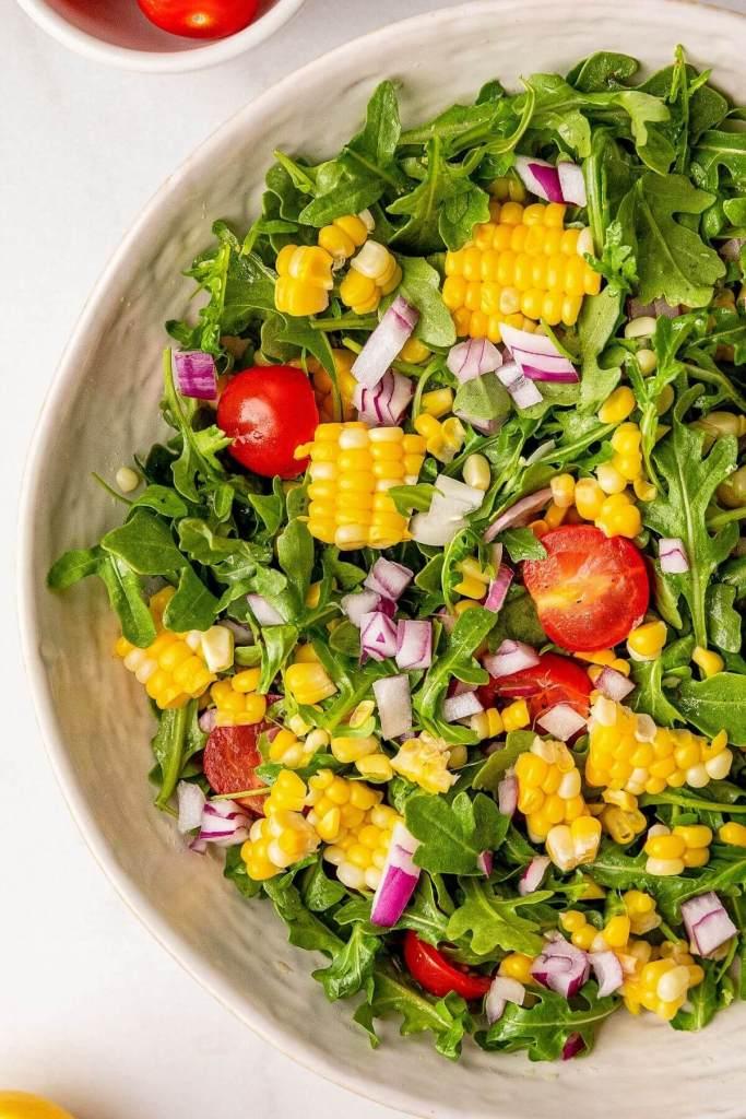 fresh summer corn salad