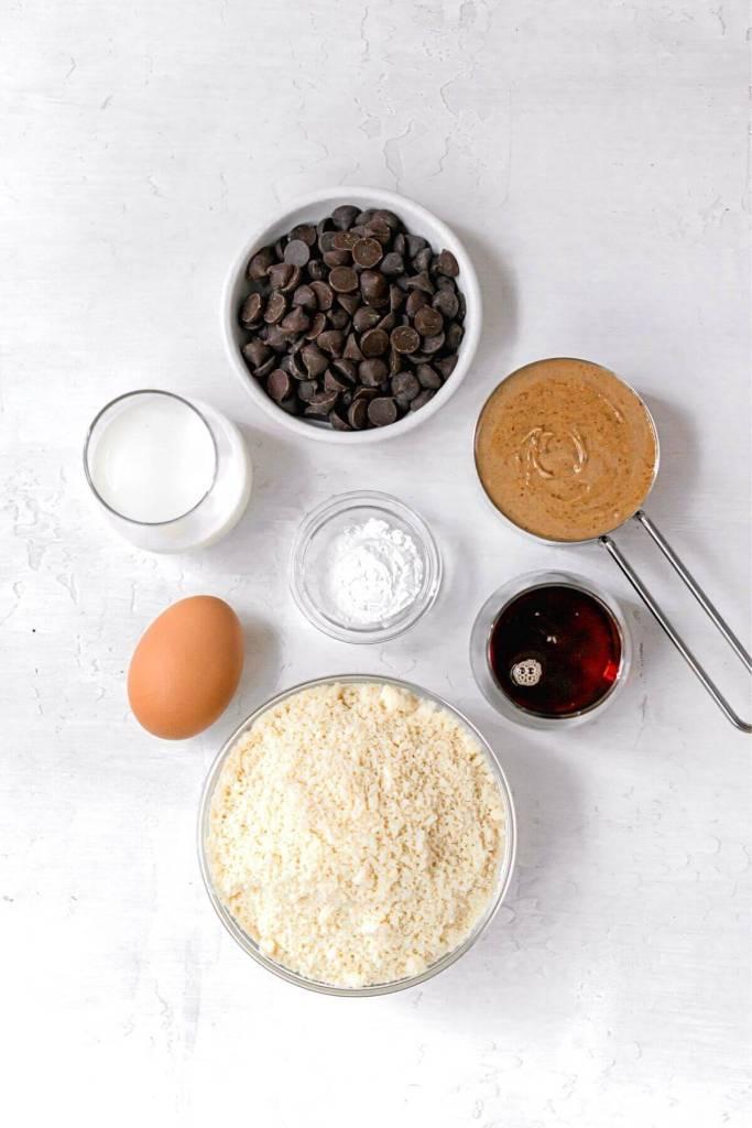 ingredients in healthy peanut butter bread