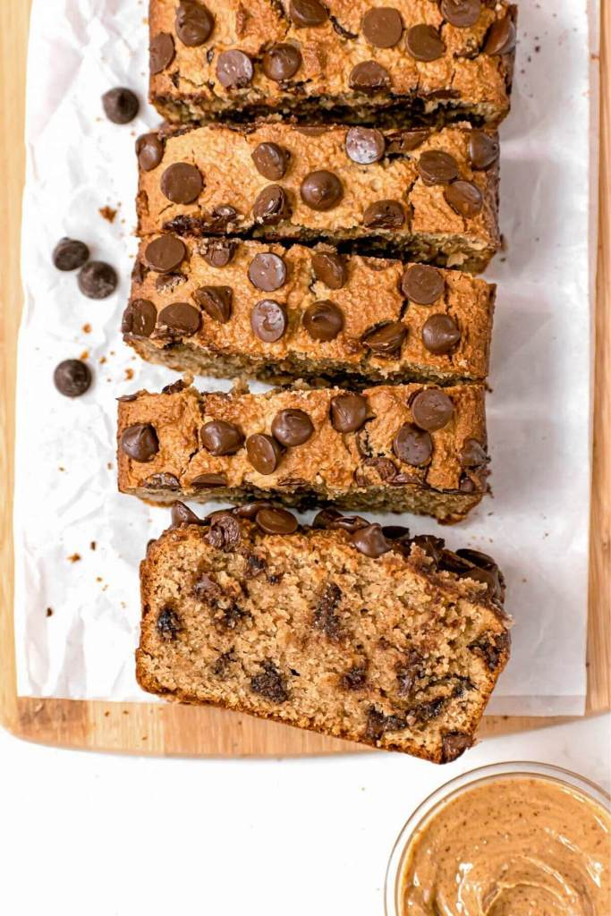 keto low carb peanut butter bread