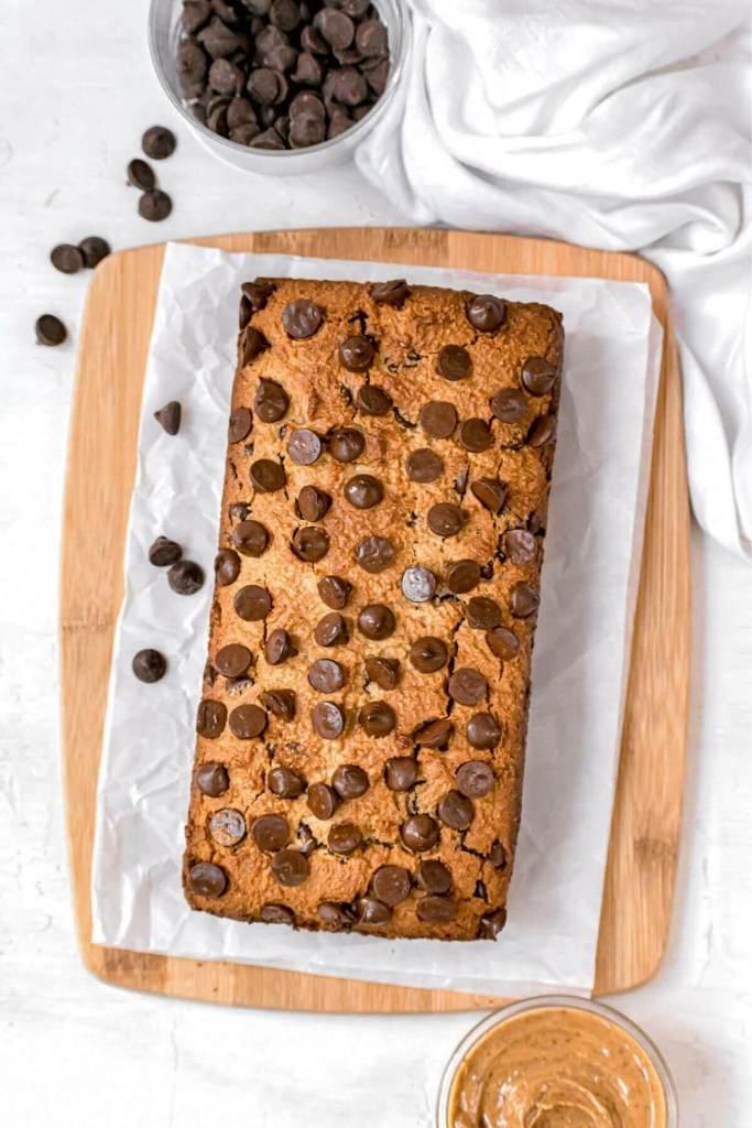 low carb gluten free peanut butter bread