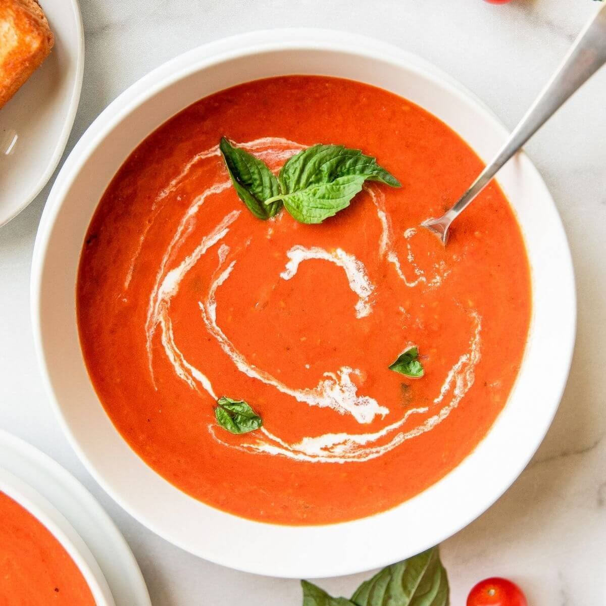 creamy dairy free tomato soup